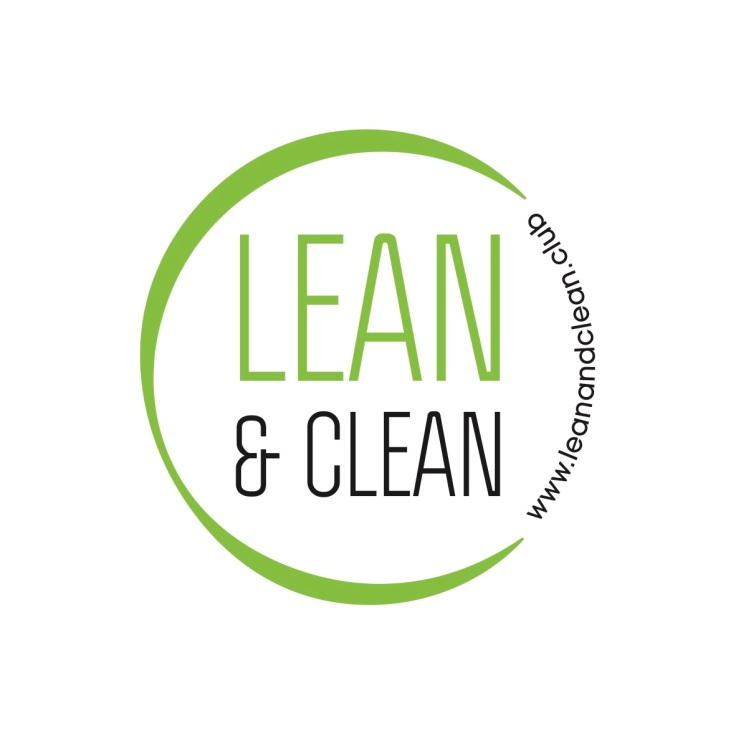 Lean and Clean logo