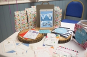 Gorgeous invites and goody bags from Hula